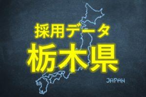 中小企業の採用データ栃木県